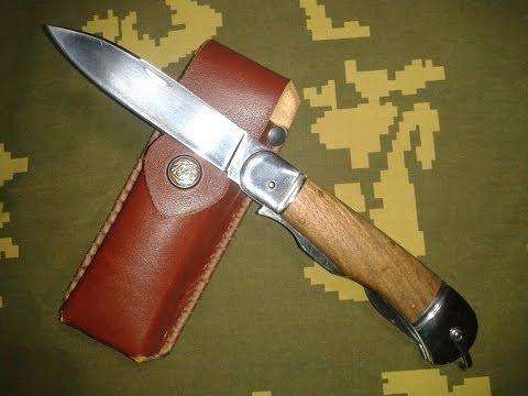 Складной, �е����� п�едме�н�й нож. С�ал� клинка - Х12�Ф, накладки ��ко��ки - о�е�, ножн� - на���. кожа. �линок:...