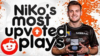 NIKO'S MOST UPVOTED REDDIT MOMENTS OF ALL TIME! (INSANE ONE TAPS)