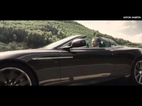 Aston Martin Virage Volante. Промо-видео