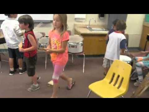 Stomp at Summer Art Camp with Frazier Park Elementary School