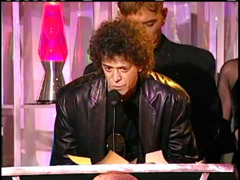 The Velvet Underground Accept Hall of Fame Awards in 1996