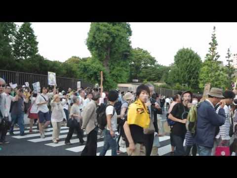 2012年6月29日 首相官邸前反原発デモ