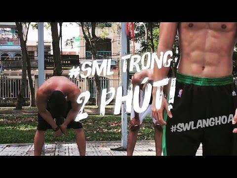 CARDIO cường độ cao: SẤP MẶT trong 2 PHÚT! 2 minutes INTENSE CARDIO! Street workout Lang Hoa #Cardio