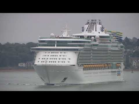 Independence of the Seas arrives in Southampton for summer season