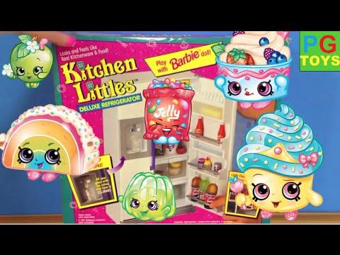 Surprise Fun Shopkins Unboxing Kids Toys Kitchen Littles