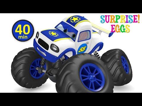 Car Videos   Racing Car Rescue Video   Kids Songs   Nursery Rhymes Compilation from Jugnu Kids