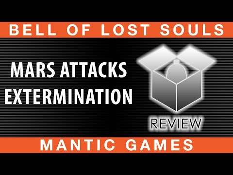 BoLS Unboxing | Mars Attacks Extermination | Mantic Games