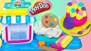 Double Dessert plastilina cupcakes Play Doh playset playdough toy