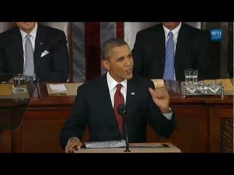 "State of the Union 2012: ""Rewarding Companies That Create Jobs Right Here in America"""