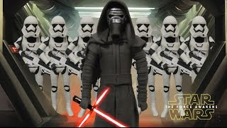 Play Doh Star Wars-The Force Awakens  (Kylo Ren,Stormtroopers) Inspired Costumes