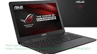 ASUS ROG GL551JW-WH71(WX) Review Intel Core i7-4720HQ 2.6 GHz
