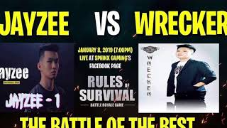 WRECKER VS JAYZEE. THE BATTLE OF THE BEST ROS PLAYER
