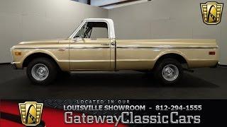 1968 Chevrolet C10 Pickup - Louisville Showroom - Stock # 1500