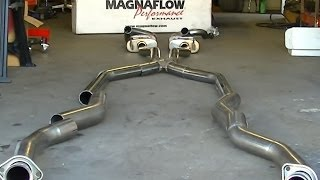 MagnaFlow Performance Exhaust System Overview 1969 Mustang Restoration Part 45