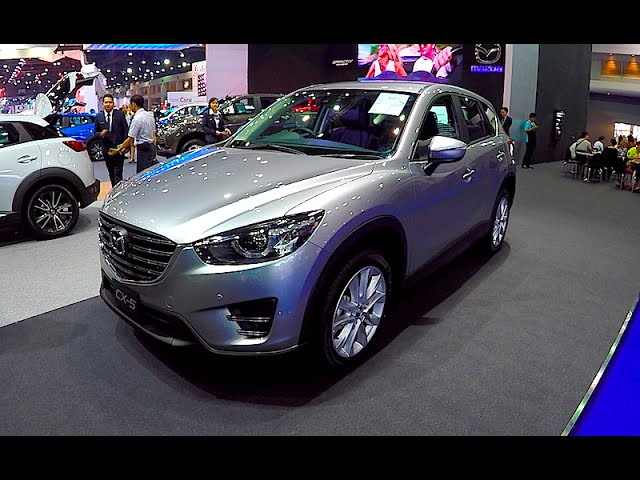 New crossover Mazda CX 5 2016, 2017
