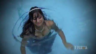 Quinceanera Yully under water video clip
