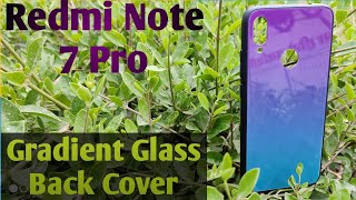 Redmi Note 7 Pro Gradient Glass Back Cover