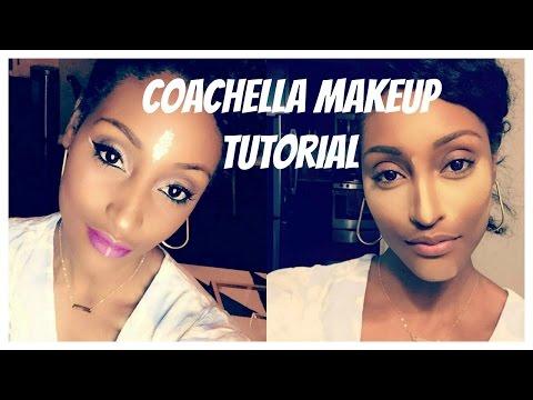 Last Minute Coachella Festival Makeup Look
