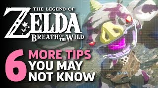 6 More Amazing Things I Wish I Knew In Zelda: Breath Of The Wild