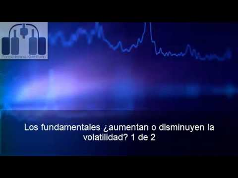 Los fundamentales ¿aumentan o reducen la volatilidad? 1 de 2