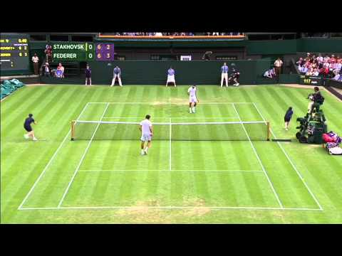 https://vimeo.com/69892507 = direct link! Roger Federer lost in the second round of Wimbledon 2013 in London. This video contains the best points he played d...
