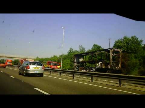 Rubbernecking on the A14 (Re-uploaded with new music)