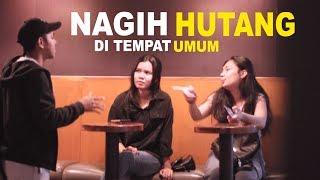 NAGIH HUTANG KE ORANG GA DI KENAL with BRAM DERMAWAN & JORDAN NUGHRAHA -PRANK INDONESIA