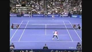 Serena Williams vs Amelie Mauresmo 2004 Highlights