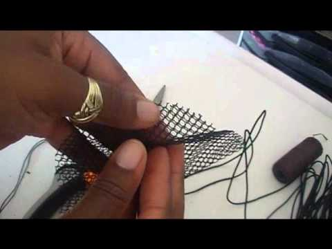 How to make a drawstring ponytail from scratch