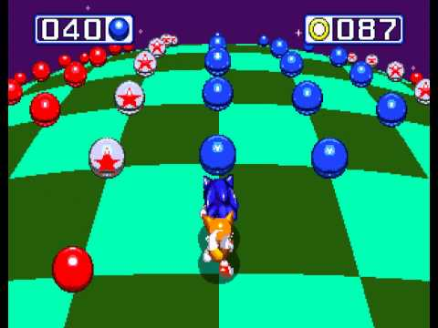 Sonic the Hedgehog 3 - Sonic the Hedgehog 3 - Sega Genesis - second emerald and a perfect (all rings collected) - User video