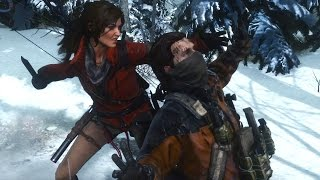 Rise of the Tomb Raider - Stealth Kills ( Research Base )