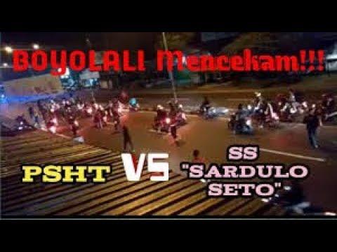 Bentrok Terjadi PSHT VS SS MILITAN //BOYOLALI