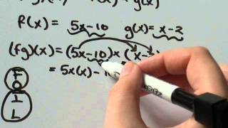 How-to multiply two functions f(x) and g(x)