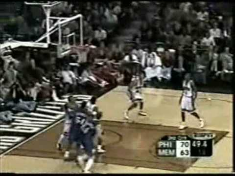 Allen Iverson 33pts vs Pau Gasol Memphis Grizzlies 02/03 NBA Video