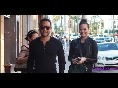 John Legend and Girlfriend Chrissy Teigen