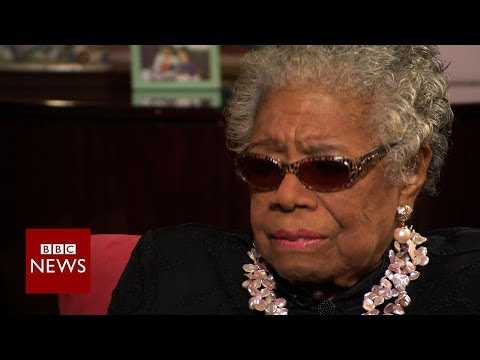 Maya Angelou: Learning to love my mother - BBC News