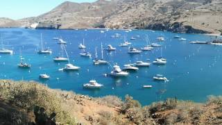 Two Harbors and Isthmus Cove on Catalina Island