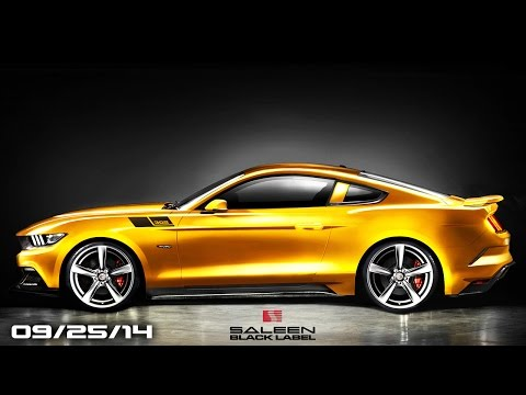 2015 Saleen 302 Mustang, Infiniti Q80 Concept, 2015 Audi TT Roadster - Fast Lane Daily
