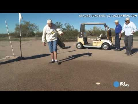 Snakes, prairie dogs only hazards on this golf course