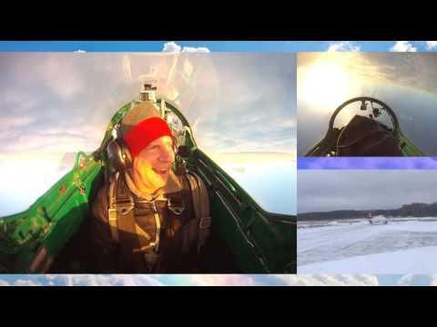 полет на реактивном самолете Л 29 КЛИП