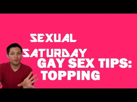 Gay Sex Tips: Topping video
