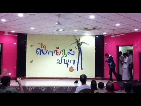 Iit Kgp Tamil Pongal Function 2014 Dada And Team video