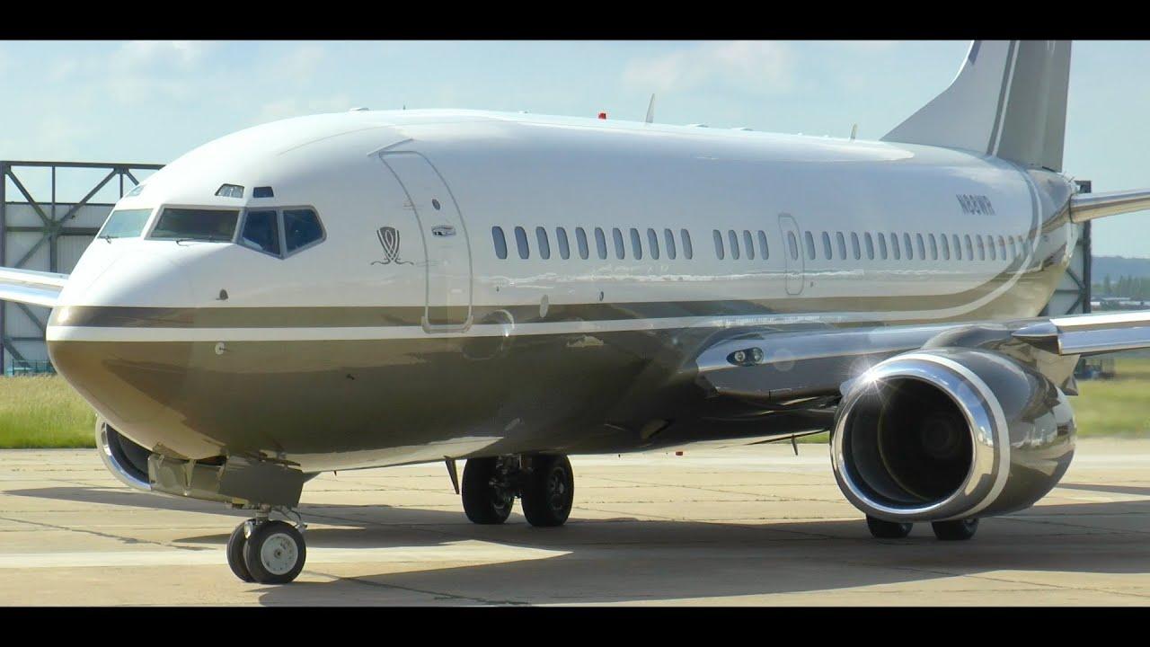Boeing 737 Bbj Engine Startup Amp Taxi Steve Wynn S