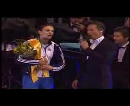 helmut lotti Yelena Isinbayeva nationalhymne