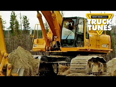 Kids DVD on Trucks - Excavator