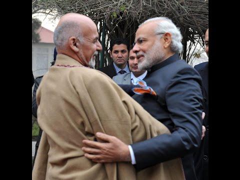 PM Shri Narendra Modi meets President of Afghanistan, Dr. Mohammad Ashraf Ghani