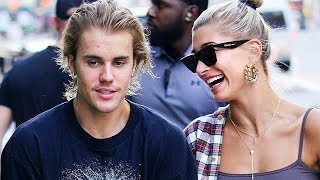 Hailey Baldwin Showing Off Justin Bieber's Engagement Ring! | Hollywire
