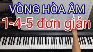 Vòng hòa âm 1-4-5 đơn giản