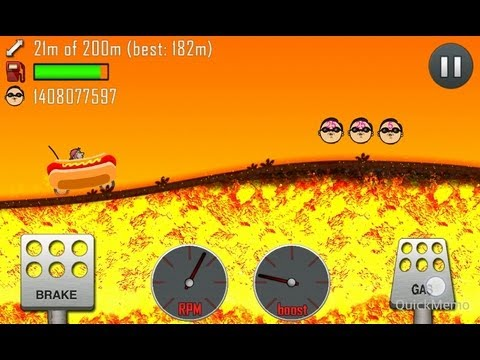 HILL CLIMB RACING FUNNY MOD-cheats [NO ROOT]