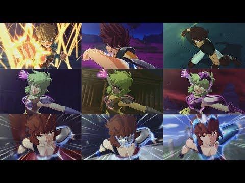 Saint Seiya Brave Soldiers - 「聖闘士星矢 - ブレイブ・ ソルジャース」- 全て ギリシャのコスチュームセット DLC [ALL GREEK COSTUMES]